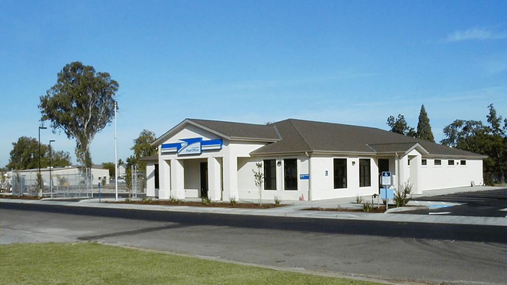 Main Post Office - Delhi, California